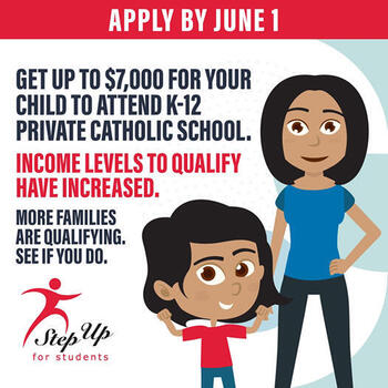 Step Up for Students Offers Scholarships to Attend Catholic School