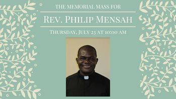 Fr. Philip Mensah Memorial Mass