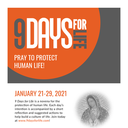 Respect Life novena, 9 Days for Life, January 21-29 ~ Free online