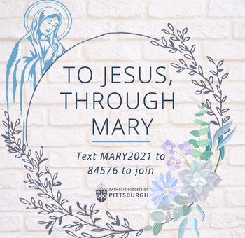 Join DioPitt in May 2021 for To Jesus Through Mary