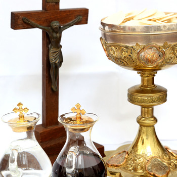 SACRAMENT OF THE HOLY EUCHARIST - RESCHEDULED TO A DATE TO BE DETERMINED