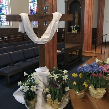 EASTER SUNDAY MASS. LIVE-STREAMED
