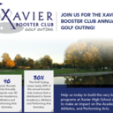 Xavier Booster Club to Host Golf Outing August 10, 2020