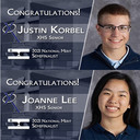 Korbel, Lee Named National Merit Semifinalists
