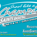 Girls Basketball: Shoot Like A Champion Camp (Entering Grades 3-9) Session 1
