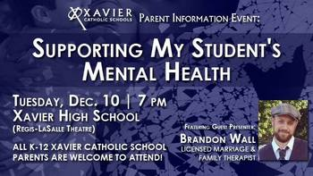 Parent Event: Supporting My Student's Mental Health