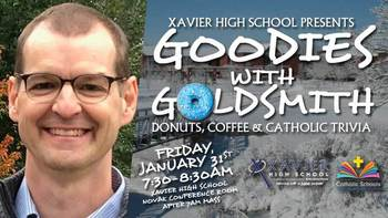 Goodies With Goldsmith: Donuts, Coffee, Trivia