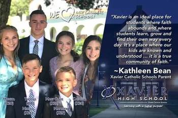 Why Catholic Schools? A Reflection by XHS Parent, Kathleen Bean