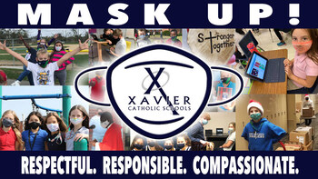 Masks Continue to Be Required at Xavier Catholic Schools