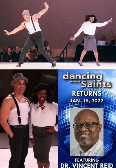 Darline Reid and LD Kidd in Dancing with the Saints: Season 4