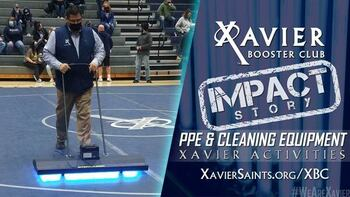 XBC Impact Story: PPE Funding Focus of Xavier Booster Club