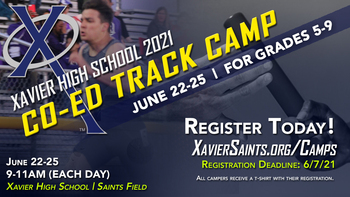 Co-Ed Track Camp (Entering Grades 5-9)