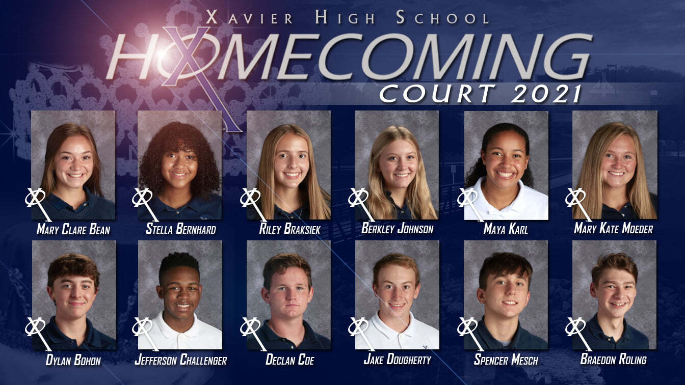 XHS Homecoming Court