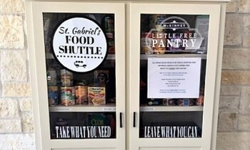 Donation changes for the Little Free Pantry