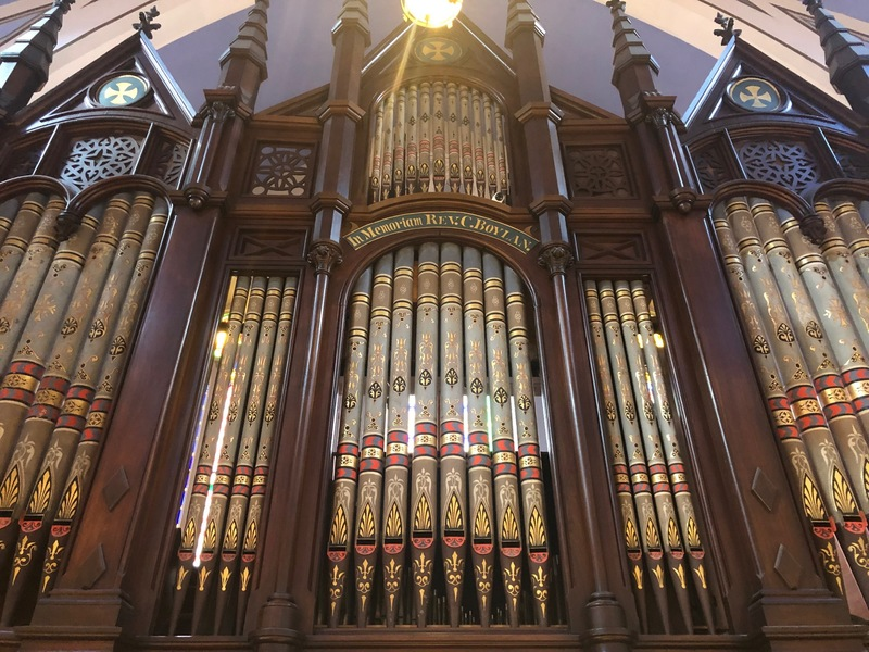 Hook and Hastings Organ originally installed 1876