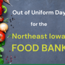 Out of Uniform Day for $1 donation
