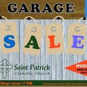 Saint Patrick Parish Garage Sale
