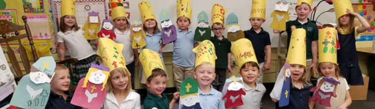 St. Patrick students celebrate 100 days of school