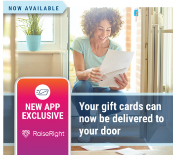 Now, you have the option to get your physical Scrip gift cards sent to you
