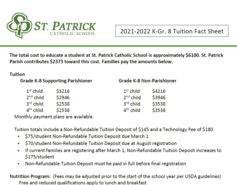 Tuition Fact Sheet