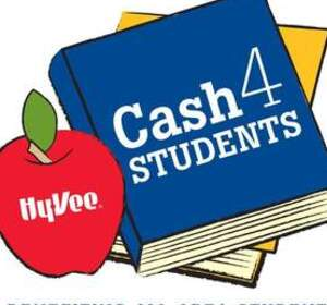 Turn in your Hy-Vee Receipts by April 19th