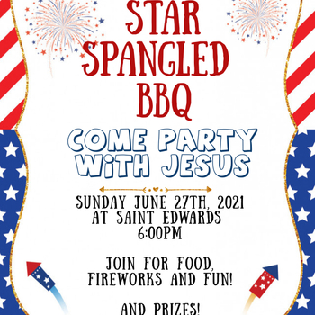 St. Edward Youth Group BBQ