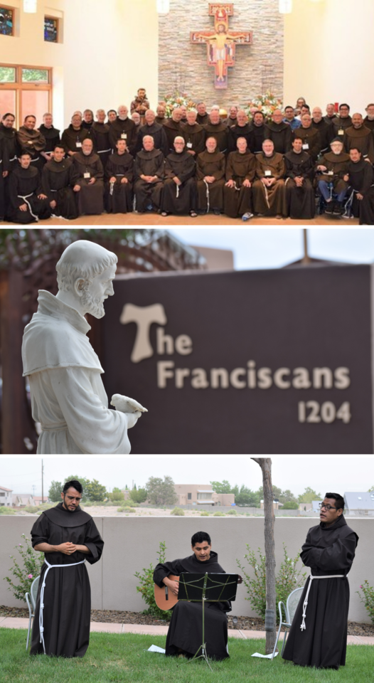 42 Franciscan Friars in Albuquerque