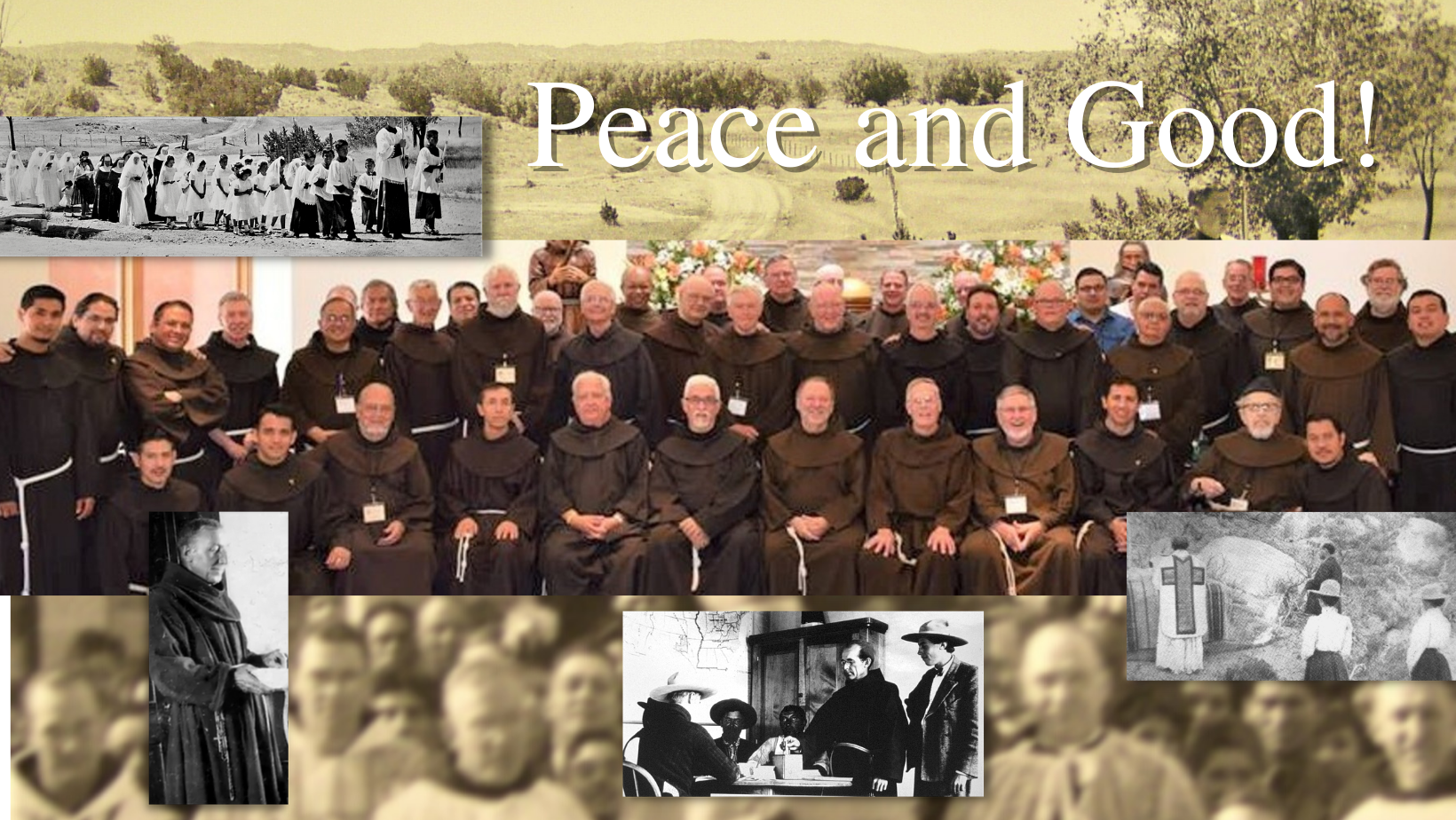 Welcome to the website of the Southwest Franciscans.
