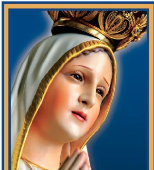 Fatima Immaculate Heart of Mary Pilgrim Virgin Statue Visitation, May 10