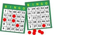 YLI Bingo Tournament, Monday, August 28 at 6:00pm.