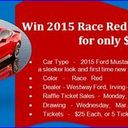 Raffle Tickets Now available for the Guadalupe Radio Network Mustang Giveaway