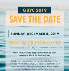Green Bay Diocese Youth Conference-High School Students