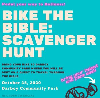 Bike the Bible: Scavenger Hunt