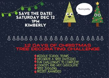 12 Days of Christmas: Tree Decorating Challenge