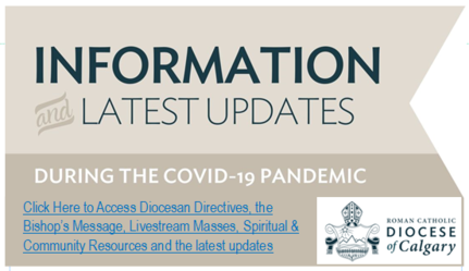 Diocese of Calgary COVID-19 Pandemic Updates