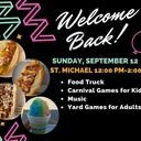 Welcome Back Parish Event
