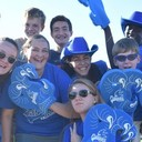 School community celebrates Frassati Fan Night as Flag Football defeats Westside Baptist
