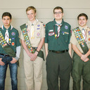 Four students receive Emblems at Catholic Scout Awards Ceremony