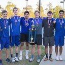Boys Tennis captures 1st Place at district tournament