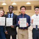 Four Students Inducted Into National Honor Society