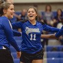 Volleyball Surges to State Ranking; Remains Undefeated in District Play