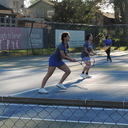 Frassati Tennis Team Ties With Lutheran South