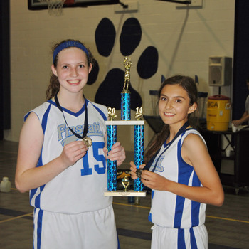 Falcons Girls Basketball Wins Baytown Christian JV Tournament