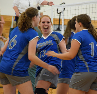 Frassati Falcons Volleyball Wins Opener