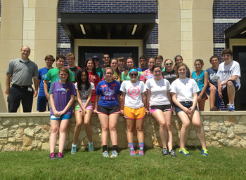 Sophomores Gather for Leadership Day