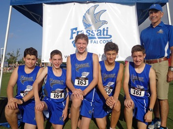 Falcons Cross Country Finishes Second at John Cooper Invitational
