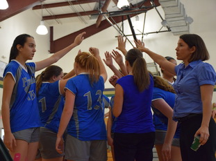 Frassati Falcons Blue Volleyball Improves to 4-0