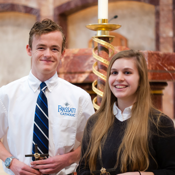 Two Frassati Catholic Students Honored at UST Essay Awards