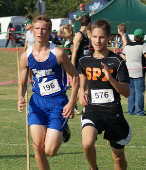 Falcons Cross Country finishes third at Faith West Hills Race