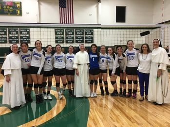 ​Falcons Volleyball moves on to District playoffs